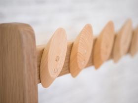 木製ハンガー用葉っぱフック